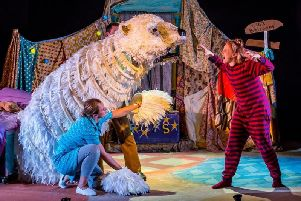 Children will be captivated by the performance of The Bear in Lancaster