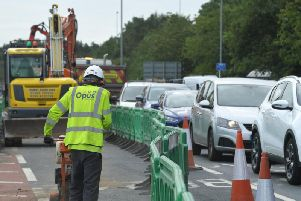 Traffic chaos in Bluebell Way just days in to four months of roadworks