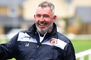 Longridge Town manager Lee Ashcroft