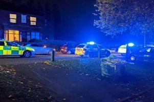 The scene of the collision in Watling Street Road. Photo @rickbutterfield