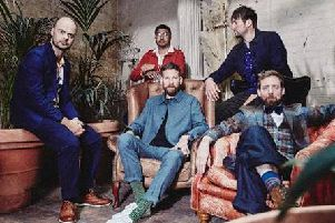 Kaiser Chiefs on tour in 2020 credit Edward Cooke
