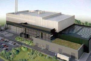 Impression of the proposed Longridge Road Energy Centre (courtesy of Miller Turner)
