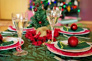 Christmas dinner. Photo by Pixabay
