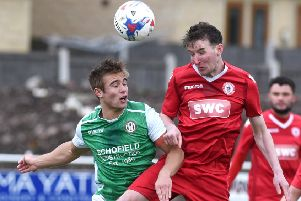 Danny Wilkinson and his Longridge Town team-mates fought back to win at Northwich Victoria