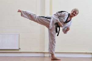 6th Dan gran Julie Graham excels at Taekwondo