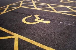 Blue badge-holders can park in designated bays and in other areas where restrictions usually apply