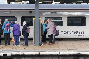 The state of the North's rail services dominated PMQs.