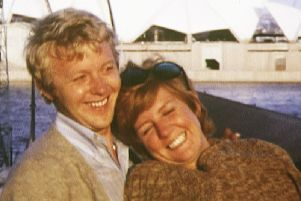 Cilla with husband Bobby in one of the home movies from Cilla: The Lost Tapes. Picture: ITN