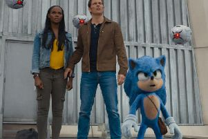 Now showing: Sonic The Hedgehog. Photo: PA Photo/Paramount Pictures Corporation/Sega of America, Inc