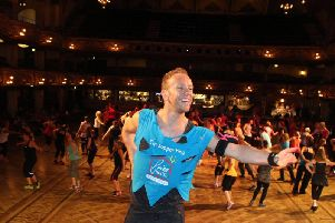 Dan Whiston is running online fitness classes in aid of Brian House Hospice.