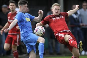 Longridge Town's Joe Melling