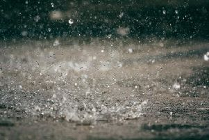 The weather is set to be mostly dull today as forecasters predict cloud and light rain.
