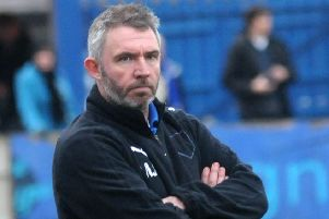 Longridge Town boss Lee Ashcroft was an unhappy man after their defeat last weekend