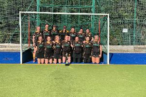 Lancaster and Morecambe Hockey Club's first team.
