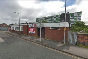 The derelict New Friargate Social Club in Maudland Bank.