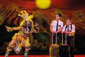 The controversial Book of Mormon musical is coming to Manchester Palace Theatre. (s)