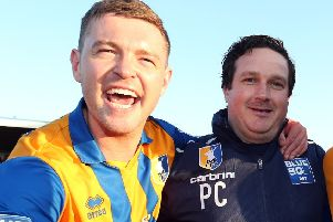 John Dempster with Paul Cox.