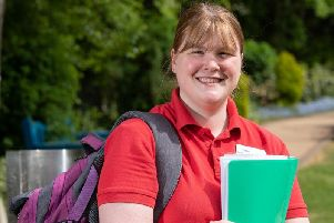 Nurse Kathryn Norris works for Derians Hospice at Home team.