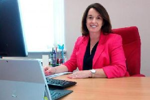 Cath Fogarty, the councils strategic director of corporate services