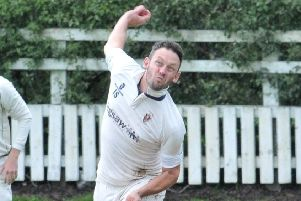 Ian Simpson stood in as Longridge's captain last weekend in the absence of regular skipper Nick Wilkinson