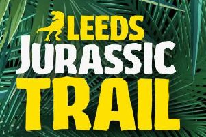 Giant dinosaurs will be taking up residence across the city centre as part of the Leeds Jurassic Trail -a free event running during the summer holidays.