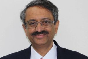 Dr. Sumantra Mukerji, chair of Greater Preston CCG