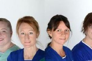 Jenni Anderson, Laura Hall, Emma Barber and Sharon Spencer are going to Barcelona  for the 2019 World Lung Cancer Conference