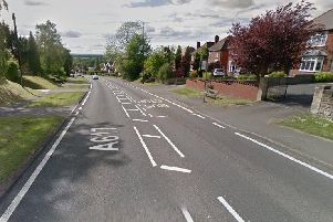 A617 in Glapwell is experiencing bad traffic.