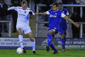AFC Fylde need a return to winning ways after losing again on Tuesday'                      Picture: Steve McLellan