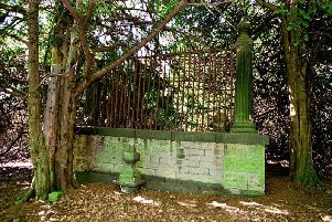 The reputed grave of Robin Hood