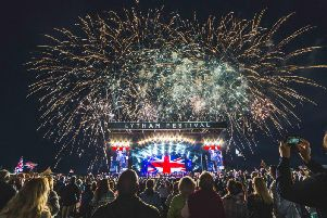 A spectacular previous Lytham Proms climax on The Green