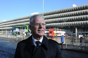 John Wilson fronted the campaign to save Preston Bus Station.