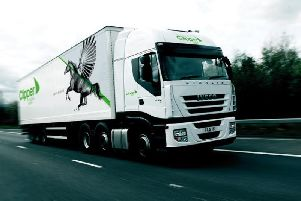 Clipper delivers goods for John Lewis, Marks & Spencer, Asda and Morrisons