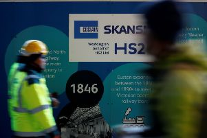 A decision is due to be made next month on the future of HS2.