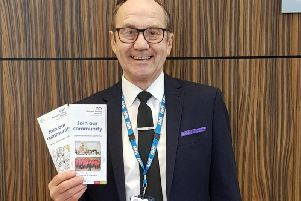 Steven Gratrix, who was elected as a governor at Blackpool Victoria Hospital in September last year (Picture: Steven Gratrix)