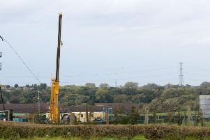 Fracking will not start in Lancashire today due to the bad weather