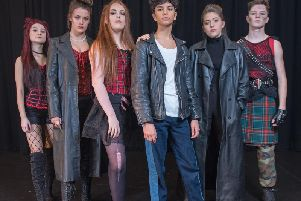 AKS students who are performing in We Will Rock You
