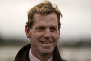 Trainer, Jamie Snowden. PIC: Alan Crowhurst/Getty Images