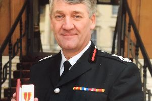Lancashire's Chief Fire Officer Chris Kenny