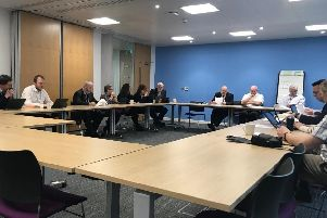 Doncaster Council cabinet meeting. Picture: George Torr