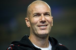 Zinedine Zidane, who has told Chelsea what his terms are if he is to become their manager, according to today's rumour mill. (PHOTO BY: Getty Images)