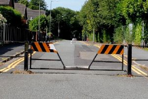 The road will reopen next week