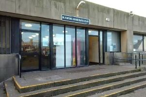 Jordan Price has made his first appearance Blackpool Magistrates' Court accused of attacking a homeless man with a glass bottle in St Annnes