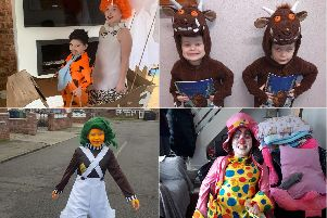 You have been sharing your World Book Day pictures.