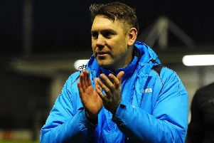 Dave Challinor is ready for a critical weekend in the National League title race