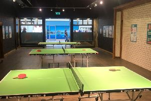 A pop-up Ping Pong Parlour has opened in Sunderland