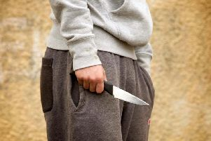 Just 189 of knife criminals in Lancashire received an immediate prison sentence