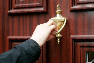 An alert has been issued over door-to-door salesmen in Lancashire
