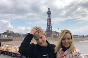 Lisa Kudrow posted this picture on Instagram from Blackpool alongside on-screen daughter Mae Martin