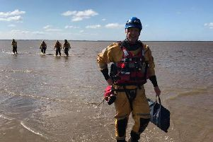 Coastguard officers had to rescue the men
